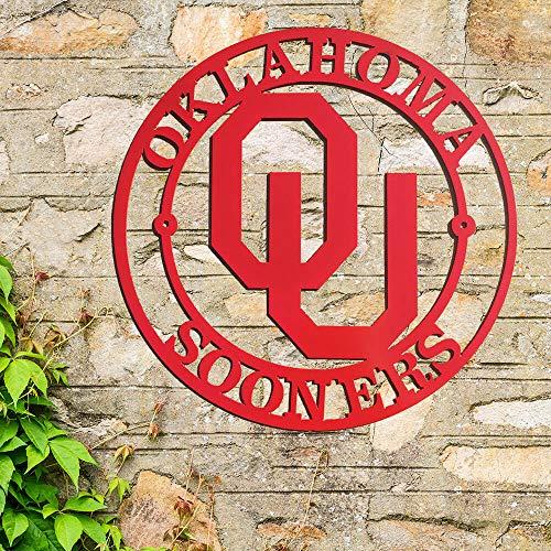 Oklahoma Sooners Logo Wall Art (B44) - Oklahoma Sooners Logos