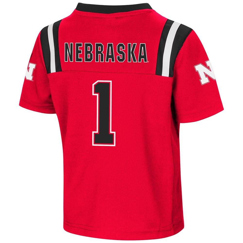 official photos a1536 0e948 Amazon.com : Toddler Nebraska Cornhuskers Football Jersey ...