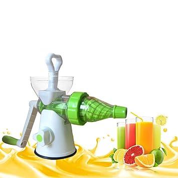 Máquina De Helados De Fruta Multifuncional Juicer Saludable Frutas Y Verduras Manual De Mano Exprimidor De