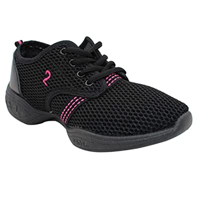 buy online 10bfa 9f685 Gtagain Modern Tanz Schuhe Damen - Mesh Lace Up Training ...