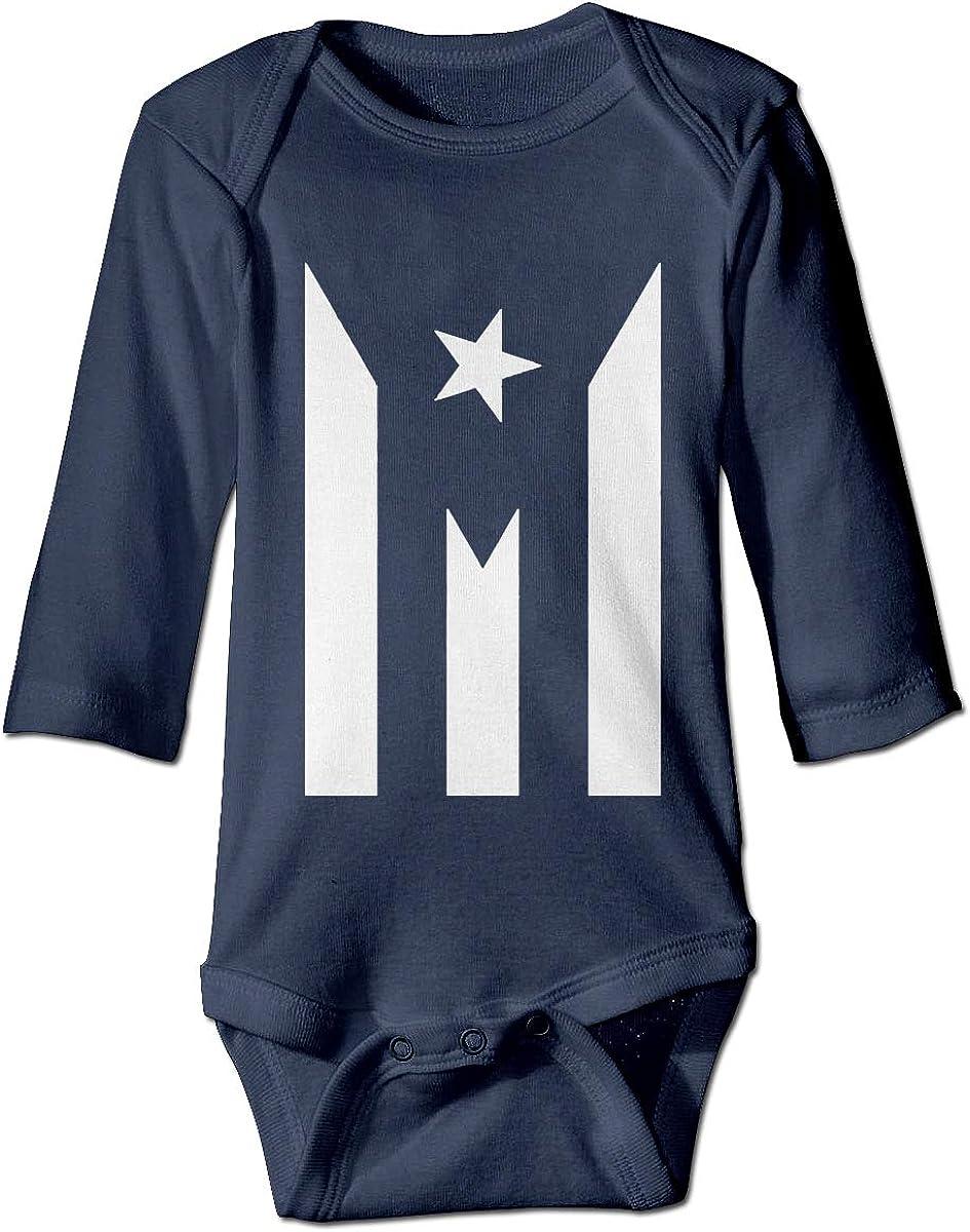 Boys Girls Kids /& Toddler Puerto Rico Long Sleeve T-Shirt 100/% Cotton