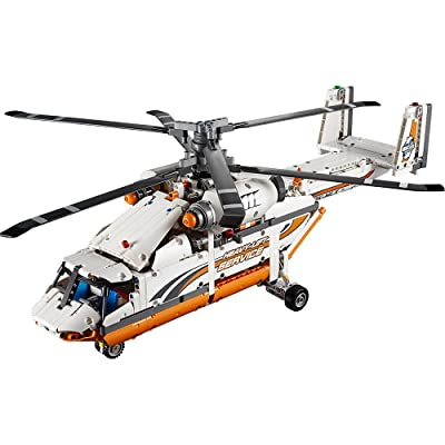 LEGO Technic Heavy Lift Helicopter 42052 Advanced Building Toy: Toys & Games