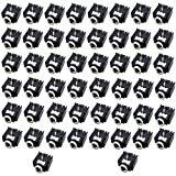50pcs 3.5mm Audio Jack PCB Mount Female Socket for Stereo, MP3 Player and Audio-Video Equipment Audio Connector from Optimus Electric