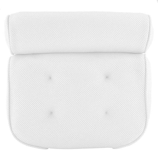 Almohada de baño Almohada de bañera suave para el respaldo ...