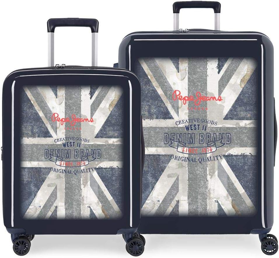 Juego de maletas Pepe Jeans Ian rígidas 55-70 cm
