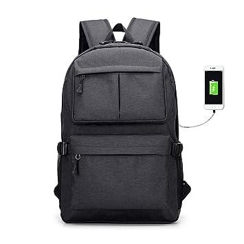 Mochilas LiveBox Multifunción con Puerto para Cargador USB Carteras para Niños y Niñas, Bolsa para