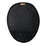 Motorcycle Circulator Pad for long ride cool air ventilation and comfort with non-skid bottom and elastic strap attachment | SKWOOSH