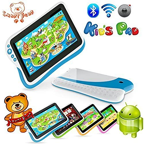 Smart Bear Kids Pad 7 Durable Dual Core Tablet Learning Software Drop Spill Proof BLUE Coupons