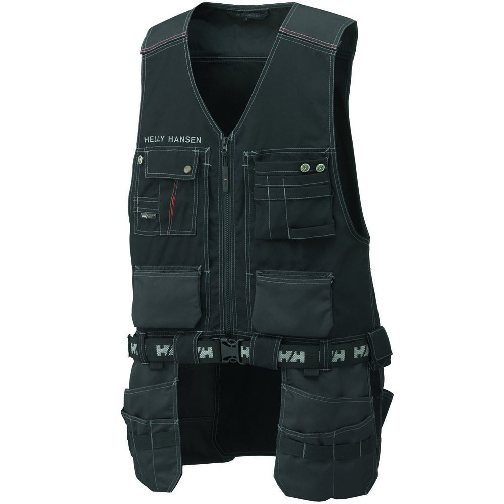 76341_999-XL Vest''Chelsea Construction'' Size In XL, Black/Charcoal