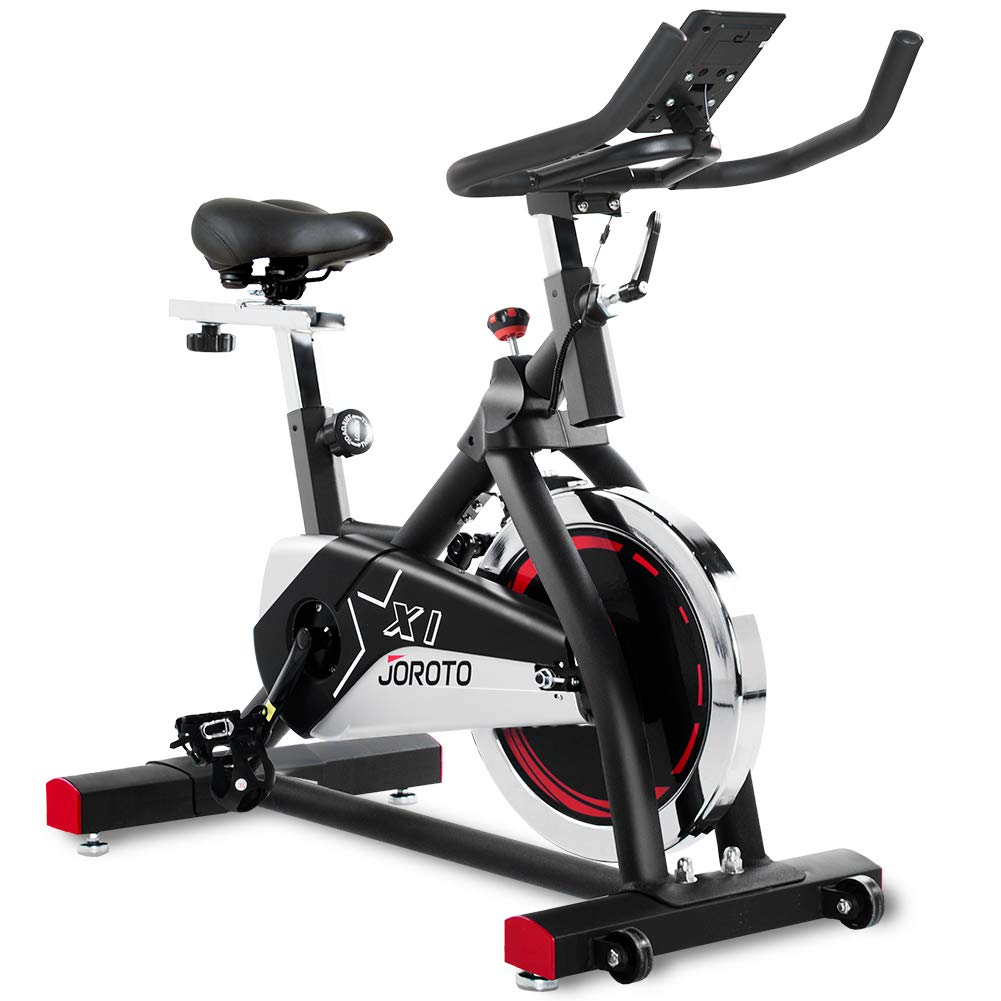 JOROTO Exercise Indoor Cycling Bike – Professional Stationary Bike for Home Cardio Gym Workout Model X1