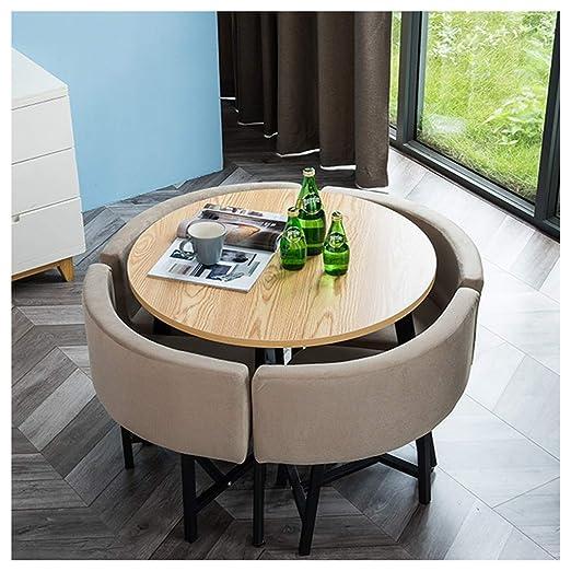 Gaohh - Juego de mesas y sillas de café y té para Oficina, hogar ...