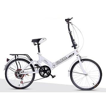 XQ XQ-TT-611 20 Pulgadas Velocidad Variable Bicicleta Plegable Mojadura Bicicleta Adulto Hombres