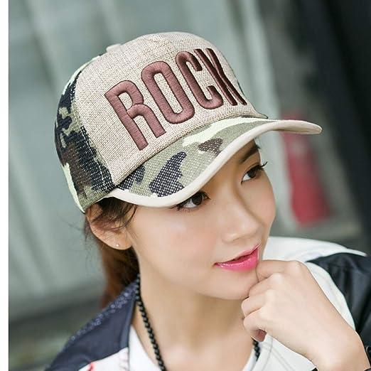 Gorra de béisbol transpirable gorras para hombres y mujeres gorra ...