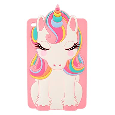 Ipad® Mini Femmes Claire's Silicone Pour Coque En Licorne Arc D29WHEIY