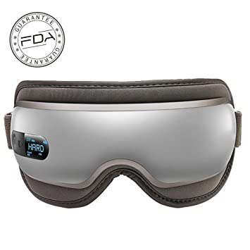 193a4087092 Eyes Massager Eye Mask with Heating ETTG Breo Rechargeable Air Pressure and  Vibration Eye Massager for