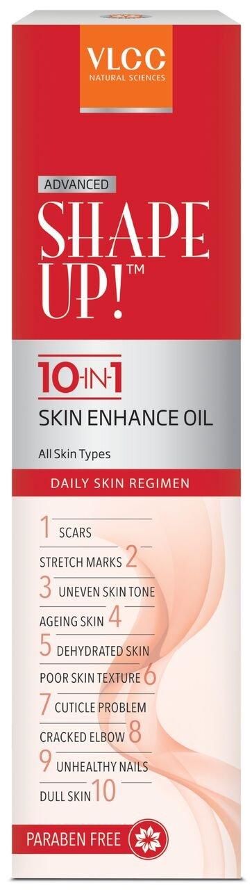 VLCC Shape Up 10 in 1 Skin Enhance Oil, 100ml