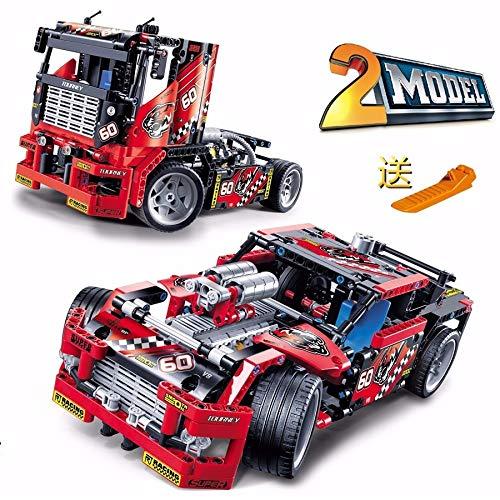 Blocks Decool Technic Stunt Bike Stunt Truck Building Blocks Sets Bricks Kids Model Kids Toys Marvel Compatible Legoings Toys & Hobbies