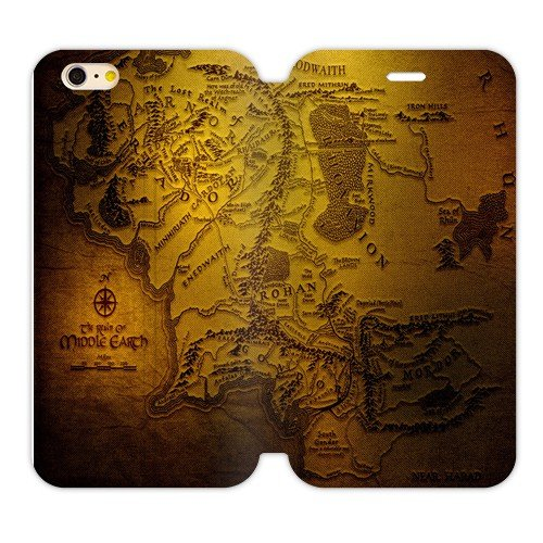 """Futefew Mobile Phone Shell Lord of the Rings Rivendell Map Pattern Cover Case for Iphone6 4.7""""-birthday Gift"""
