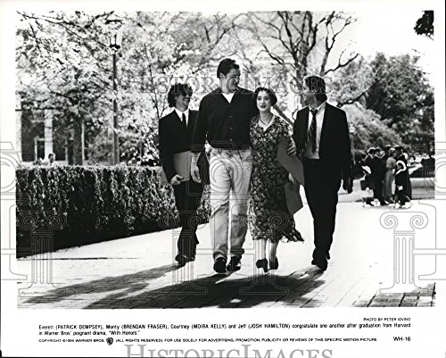 1994 Press Photo Patrick Dempsey Brendan Fraser Moira Kelly and Josh Hamilton (Josh Hamilton Photograph)
