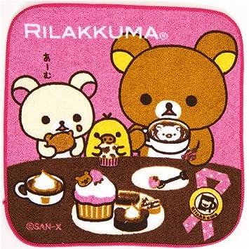 Bonita toalla osos Rilakkuma chocolate café pastel: Amazon.es: Juguetes y juegos