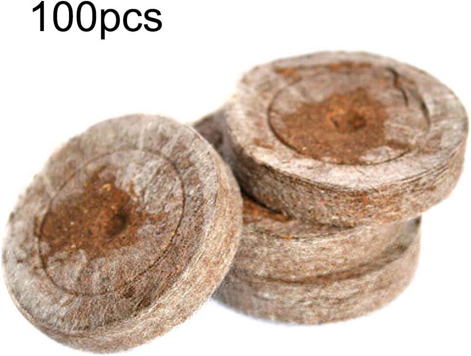 Wyi Lot de 100 granul/és de Tourbe de 3 mm