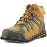 Frogg Toggs Anura Sticky Rubber Wading Shoe, Olive/Camel