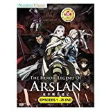 The Heroic Legend of Arslan (TV 1 - 25 End) DVD 2 Discs (25 Episodes) Japan Japanese Anime / English Subtitles