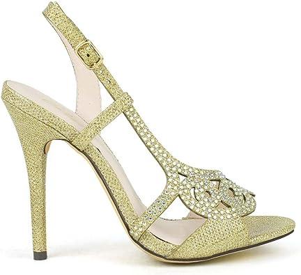 embellished open toe sandals