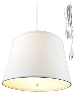 Amazon classic red billiards pool table light black home 2 light plug in pendant light by home concept hanging swag lamp light oatmeal greentooth Gallery