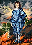 BLUE BOY BY GAINESBOROUGH NEEDLEPOINT CANVAS #14.794 CANVAS ONLY