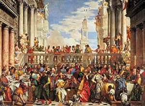 """Clementoni - Puzzle de 4000 piezas con diseño Veronese: """"Las Bodas de Cana"""" (34515.1)"""