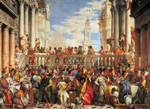 Clementoni The Marriage in Cana 4000 Piece Paolo Veronese Jigsaw Puzzle