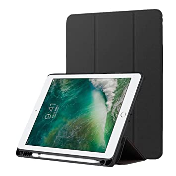 Amazon.com: iPad 9.7 2018/2017 Funda con Soporte para el ...