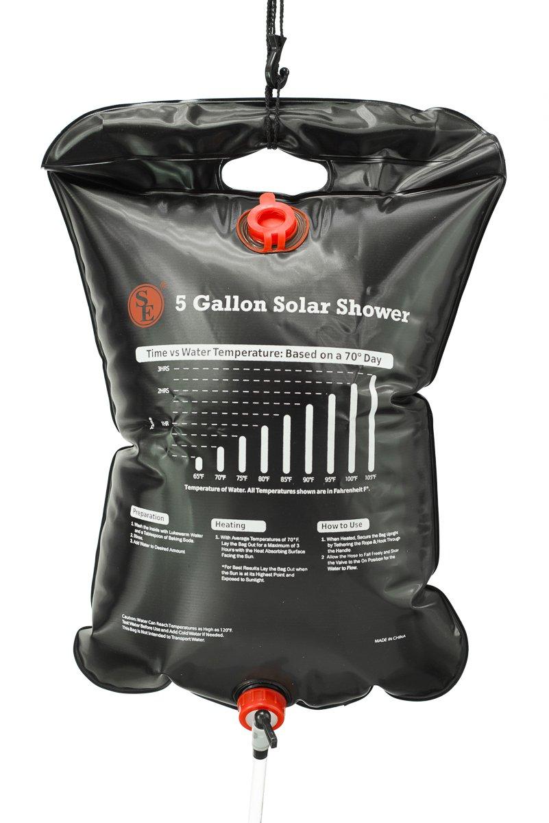 coleman hei shower wid camp gallon hero solar