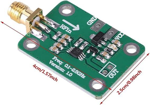 Logarithmischer Hf Detektor 0 1 2 5 Ghz Logarithmischer Detektor Für Hf Leistungsmesser 1 Pack Baumarkt