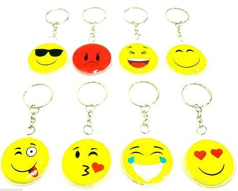 Iconos llavero Emoji Llavero signos llavero llavero con ...