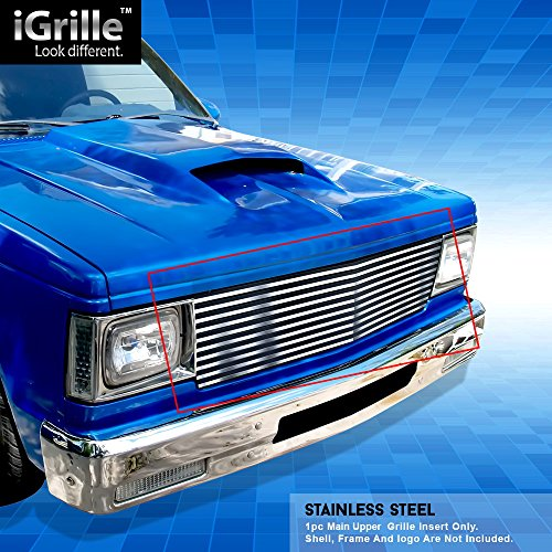 Off Roader Stainless Steel eGrille Billet Grille Grill for 1982-1990 Chevy S-10 Pickup/Blazer/Jimmy