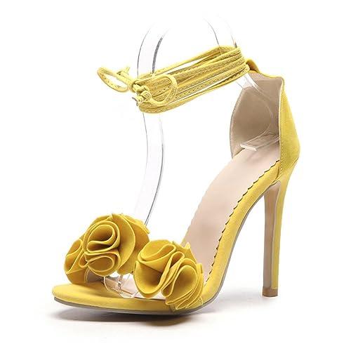 ff519456 Zapatos de Mujer PU 2018 Nuevo Sexy tacón Fino Ultra Alto talón de Gran  tamaño Código 34-52 ...