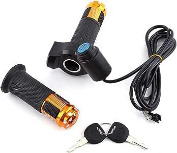 Acelerador de Bicicleta Eléctrica 12V-84V Universal Manillar de ...