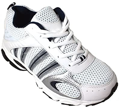 Calden K2354–8,1 cm TalleR Sneaker – Hauteur augmenter Chaussures ascenseur  (Blanc