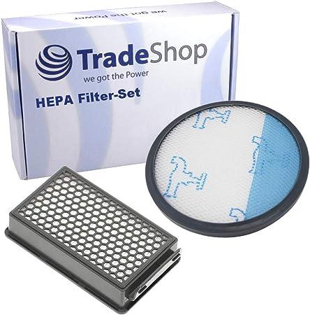 Trade-Shop - Juego de filtros HEPA para aspiradoras Rowenta RO3753EA RO3759 RO3759EA RO3786 RO3786EA RO3798 RO3798EA RO3799 RO3799EA (Equivalente a ZR005901): Amazon.es: Hogar