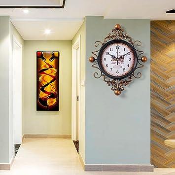 W&lx Wanduhr, Klassische retro-uhr, Amerikanischen wohnzimmer ...