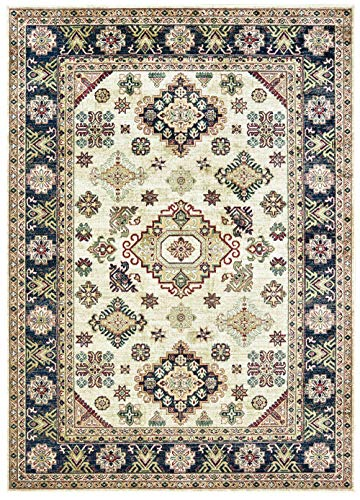 United Weavers Royalton Area Rug 853 10715 Richmond Ivory Diamonds Angled 2' 7