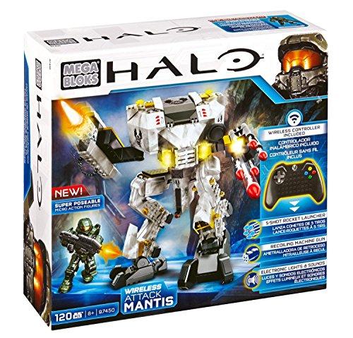 Mega Bloks Halo Wireless Attack Mantis (Master Chief Gloves)