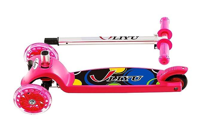 Amazon.com: LIYU 1281F - Patinete de 3 ruedas para niños con ...