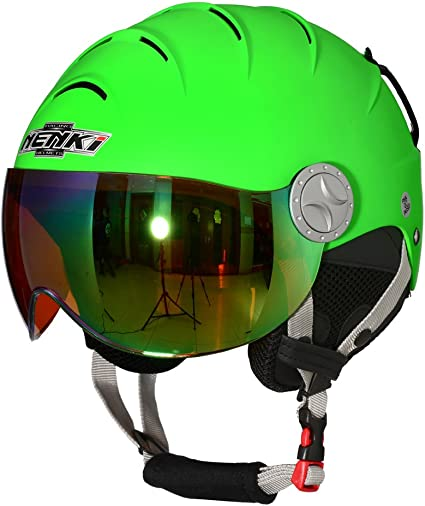 NENKI Helmets NK-2012 Ski Helmet With Visor