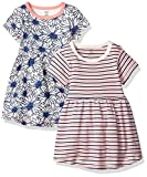 Kyпить Touched by Nature Baby 2-Pack Organic Cotton Dress, Daisy, 12-18 Months на Amazon.com