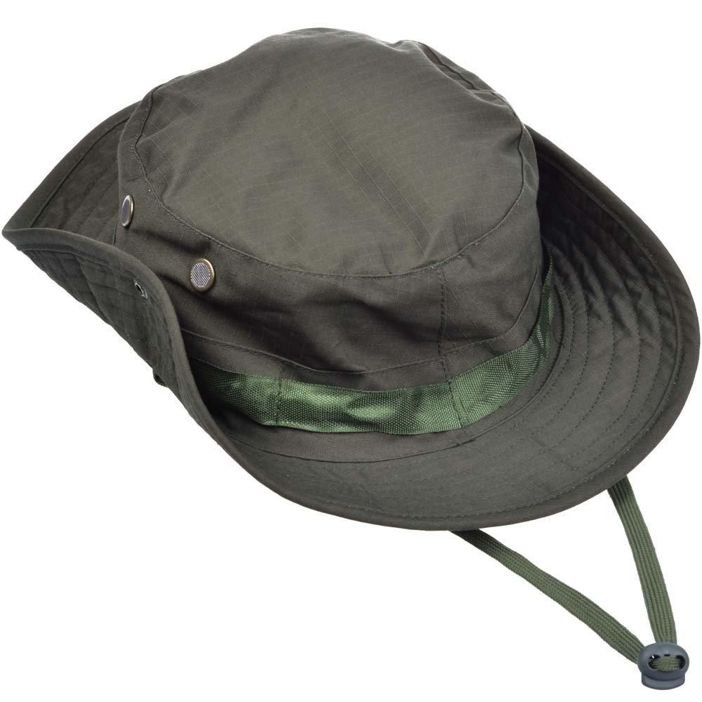 fd5278ae5df87 DLP Tactical Camo Boonie Hat (OD Green)