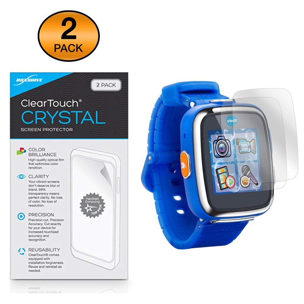 BoxWave ClearTouch Crystal VTech Kidizoom Smartwatch DX (2 Pack ...