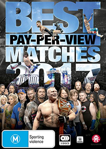 WWE Best Pay-Per-View Matches 2017 | NON-USA Format | PAL | Region 4 Import - Australia